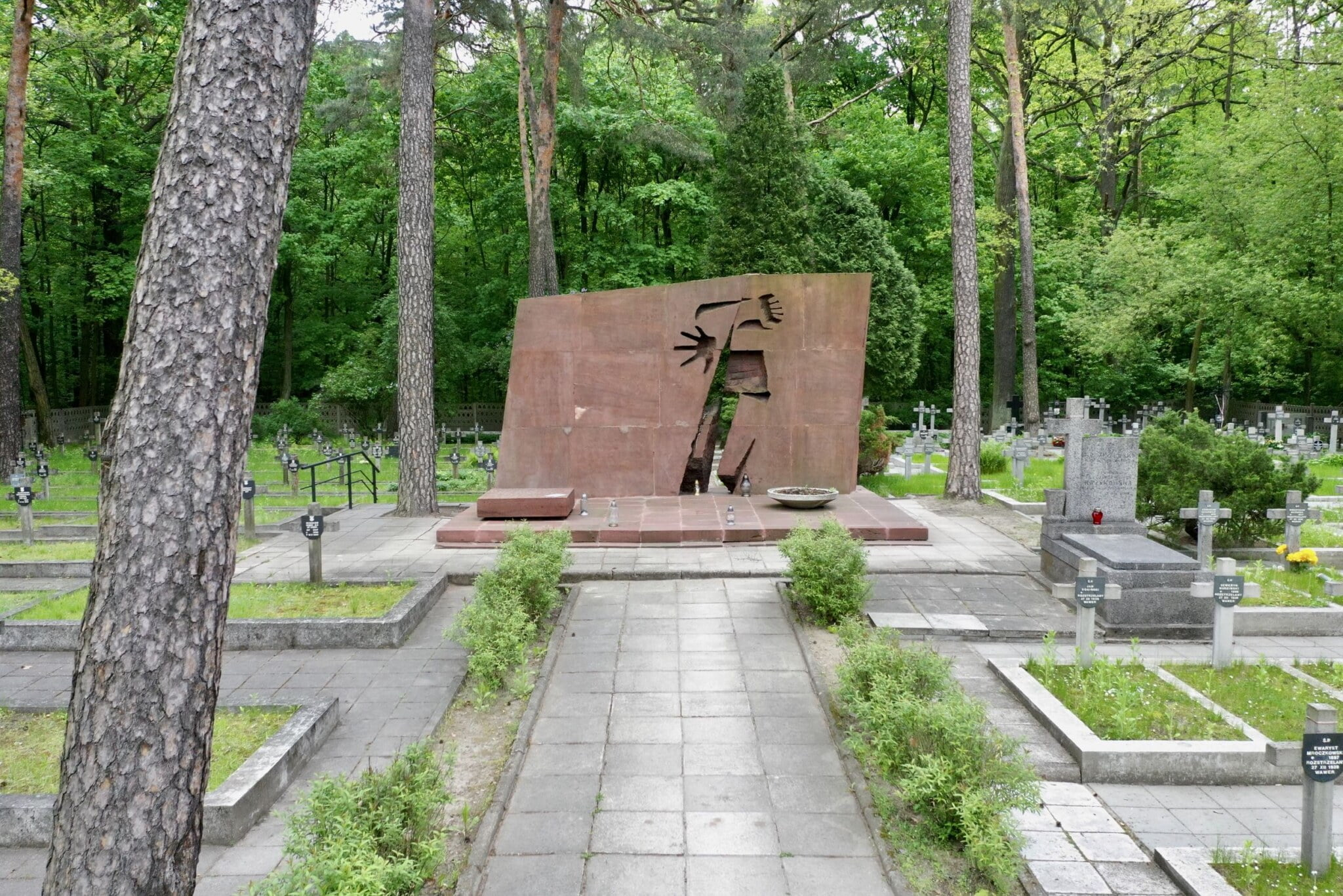 Pomnik Kościuszkowców – Bitwa o Wawer